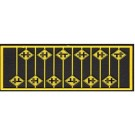 Highway Grade Crossing Warning Signs (12) -- HO Scale Model Railroad Road Accessory