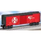Santa Fe Boxcar w/Diesel Trainsounds