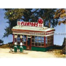 BTS HO Scale Cleator Gas Station Kit