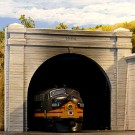 HO Double Concrete Tunnel Portal