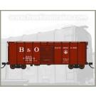N Scale Fox Valley Models Box Car-B&O Late Billboard #380645