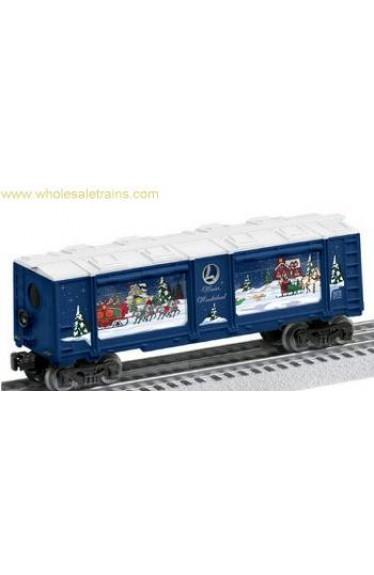 Winter Wonderland Christmas Operating Aquarium Car, Lionel 6-82740